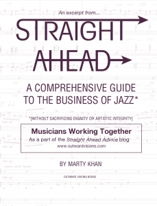 Musicians Working Together - Free eBook download from Outward Visions